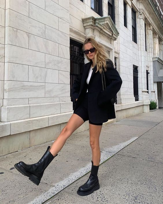 chunky boots outfits