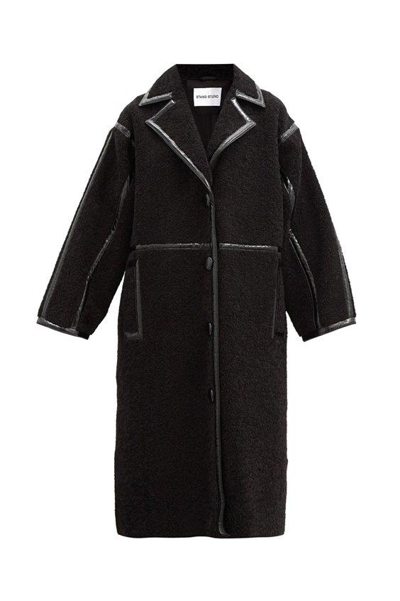 shearling teddy coat