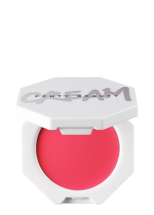 vibrant pink cream blush in hectagonal white package best blushes