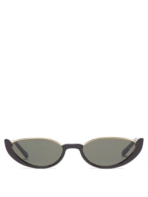 spring/summer 2021 must-haves half rim sunglasses