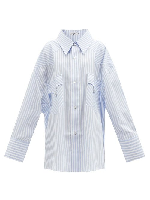 Spring/Summer 2021 must-haves vaquera oversized cotton shirt