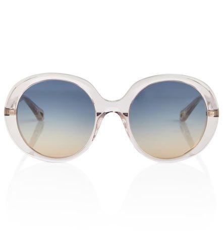 Chloe 70's inspiresd round sunglasses