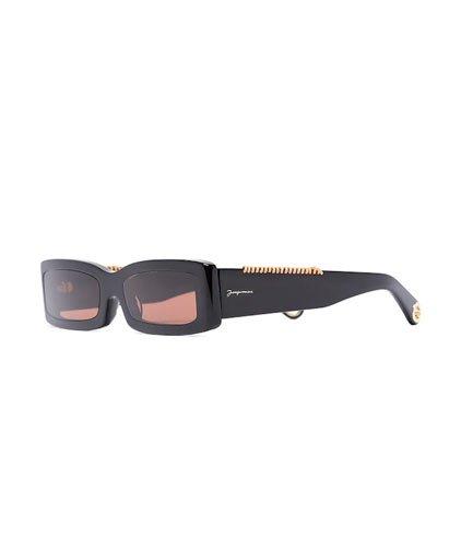 Jacquemus les lunettes 97 rectangle Sunglasses Spring Summer 2021