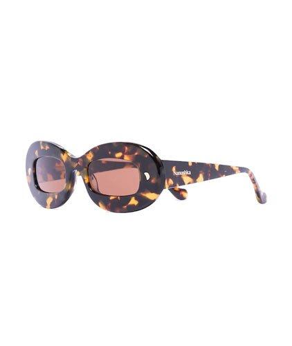 nanushka round sunglasses