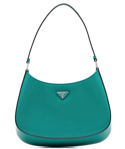 Prada Cleo Leather shoulder bag