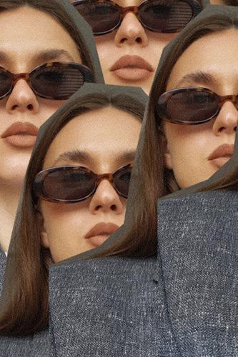 allykraw tiny sunglasses - Sunglasses