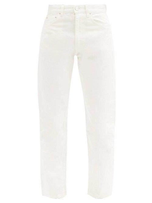 toteme white jeans