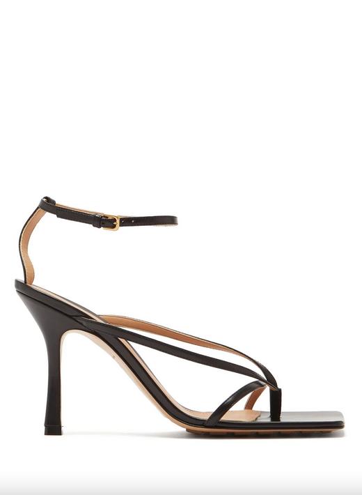 summer shoes staples bottega veneta square toe strappy sandals