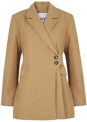 Ultimate Summer wardrobe staples ganni camel blazer
