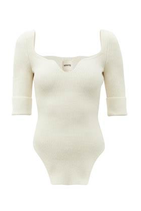 allykraw summer wardrobe staples white ribbed top