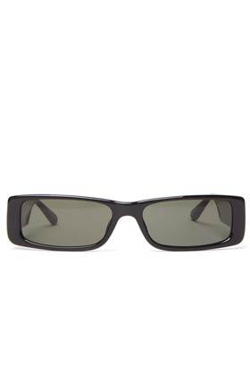 Linda farrow dania recangular sunglasses