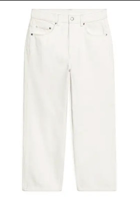 Ultimate Summer wardrobe staples white cropped jeans