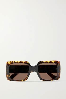 valentino large rectangular sunglasses