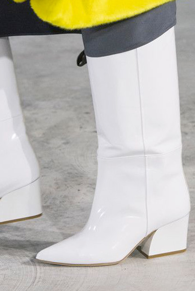white wide cowboy boots
