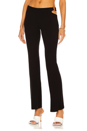autumn-winter trends 2021 cut out black trousers