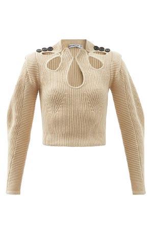 Autumn-Winter 2021 trends: cut-out jumper