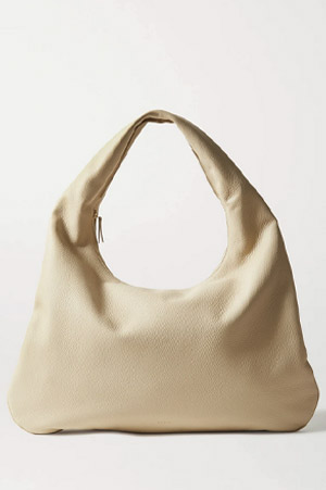 Autumn-Winter 2021 The Row everyday leather shoulder bag
