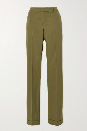 Army-Green elegant trousers
